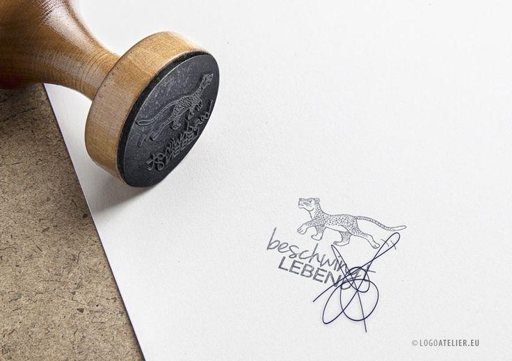 EXKLUSIVES Logo Katze Gepard | LogoAtelier.eu