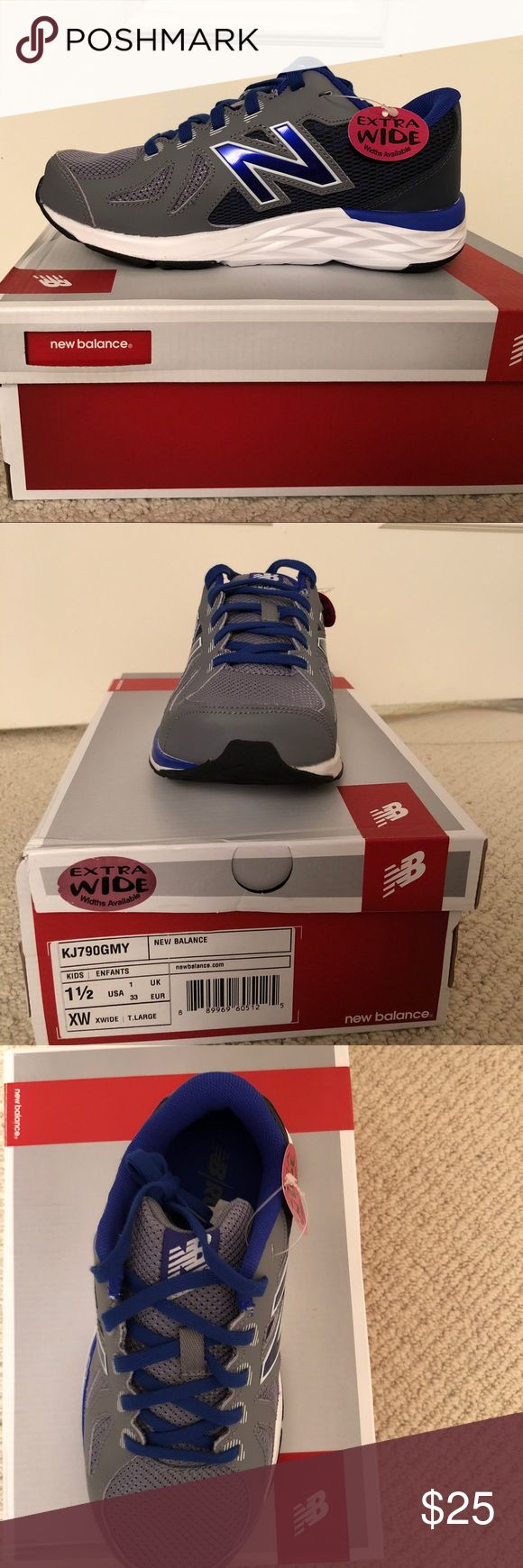 New Balance kids 790v6 sneakers New in box New Balance kids 790v6 sneakers. Size 1 1/2 XW New Balance Shoes Athletic Shoes