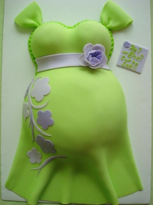 A cute belly cake, man I wish you were in Illinois @Melissa Squires Haynie so you could make my cake :) lol Don't worry though I like my cookies