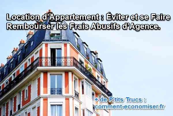 Lorsqu'on prend un appartement en location en passant par une agence, des frais sont à prévoir. Alors pour vous faciliter la vie, voici comment échapper aux facturations abusives des agences immobilières.  Découvrez l'astuce ici : http://www.comment-economiser.fr/location-appartement-frais-agence.html?utm_content=bufferdfae2&utm_medium=social&utm_source=pinterest.com&utm_campaign=buffer