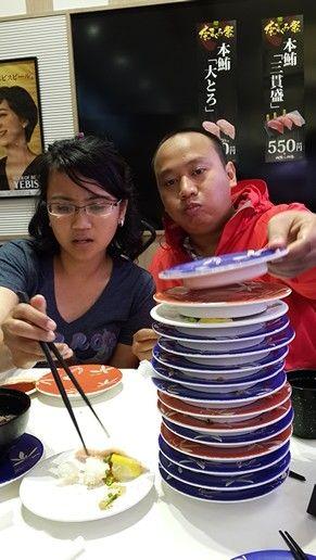 Sushi masacre...