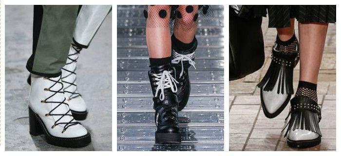 Осенняя обувь. Короткие ботинки на низком ходу - http://fashiontweaks.ru/