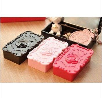 20x ciglia caso di immagazzinaggio di plastica trucco strumenti di cosmetici piccolo size6 . 5 x 4 cm trasporto libero(China (Mainland))