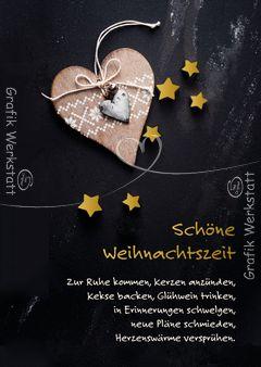 Schöne Weihnachtszeit - Postkarten - Grafik Werkstatt Bielefeld