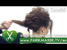 Элегантная прическа Prom updo. parikmaxer tv парикмахер тв - YouTube
