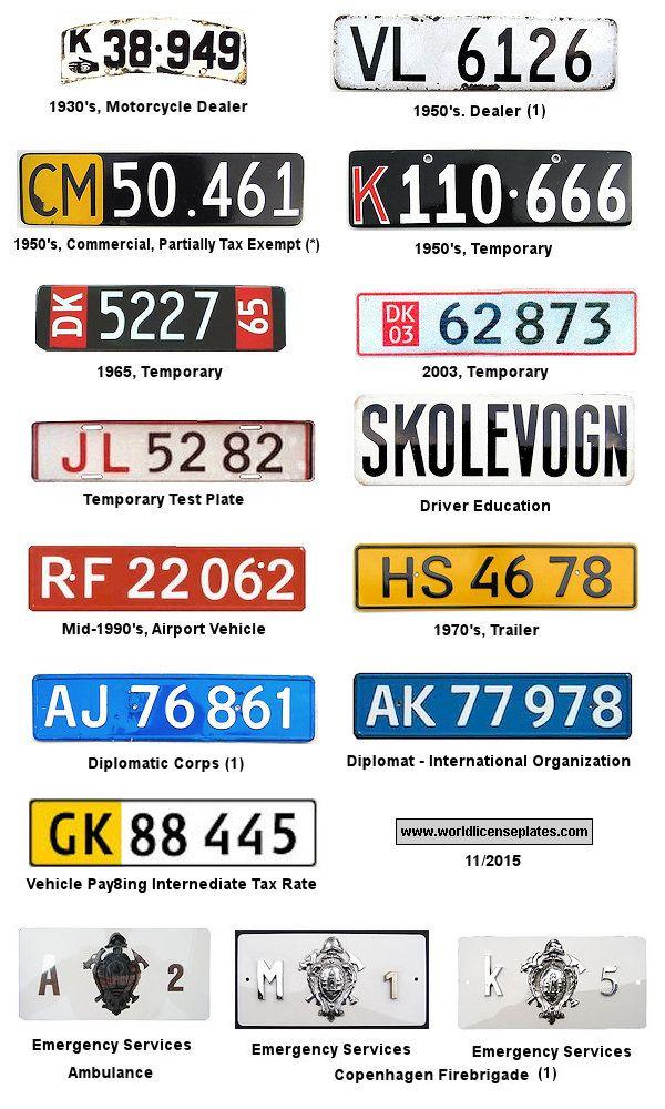 car ads in denmark denmark license plate license plates of denmark got your number plates. Black Bedroom Furniture Sets. Home Design Ideas