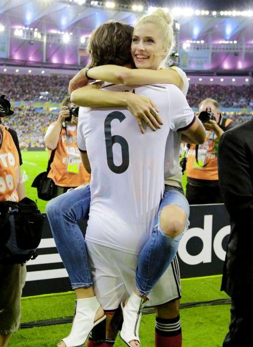 Sami Khedira (Real Madrid) & Lena Gercke
