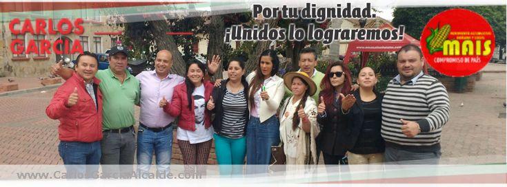 #CotaPorTuDignidad @alepulidoq @MovimientoMAIS  @alcaldegarcia1