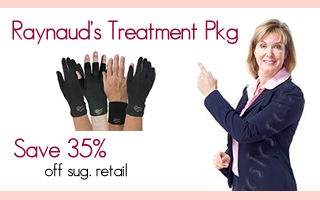 Liner gloves for Raynauds.