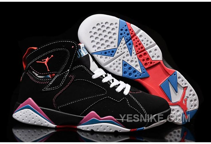 http://www.yesnike.com/big-discount-66-off-cheap-air-jordan-7-retro-black-white-pink-for-sale.html BIG DISCOUNT! 66% OFF! CHEAP AIR JORDAN 7 RETRO BLACK WHITE PINK FOR SALE Only 88.18€ , Free Shipping!