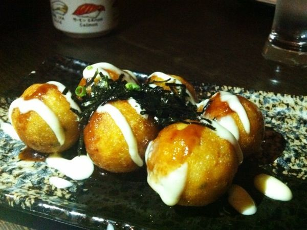 Tasty Takoyaki @ The Bonsai Restaurant, Northbridge, W.A.