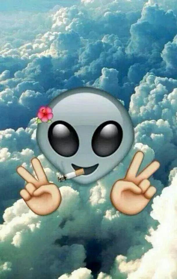 #alien #wallpaper #emoji | Emojis ️⭐️☀️⚡️⚓️ | Pinterest ...