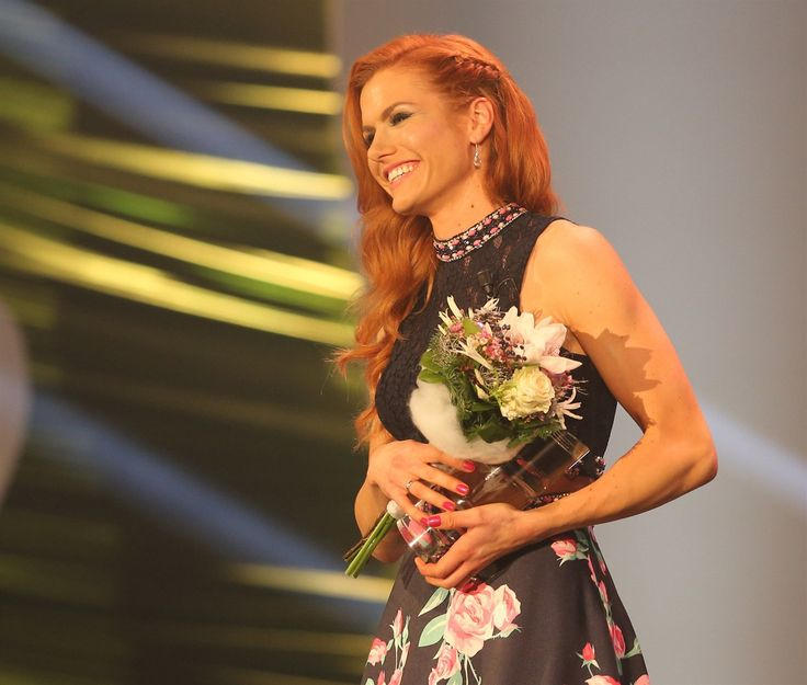 Gabriela Koukalová na vyhlášení Sportovce roku