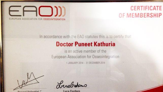 European Association of Osseointegration