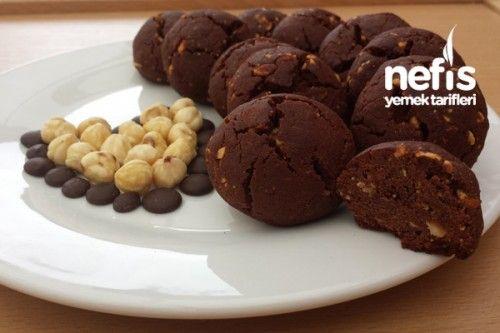 Fındıklı Damla Çikolatalı Browni Kurabiye Tarifi