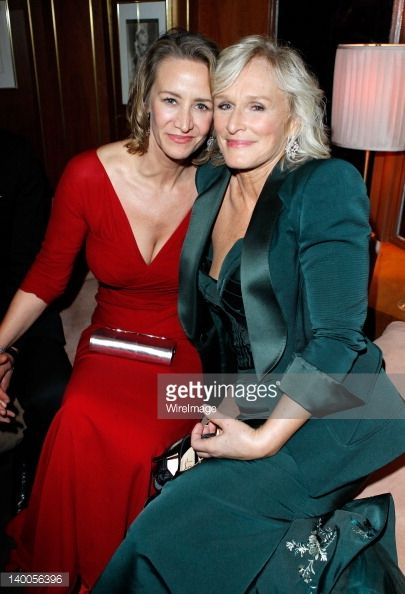 Janet McTeer and Glenn Close