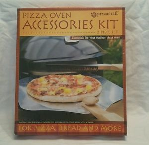 Pizzacraft pizza oven accessories  folding peel and stone brush  | eBay