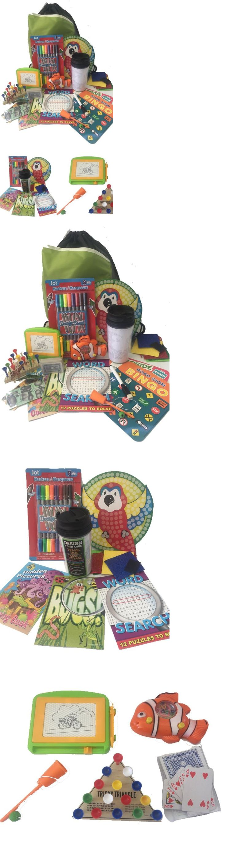 Other Snowboarding 159155: Travel Activity Bag Kit For Kids - Keep Children Busy On The Airplane Or In The -> BUY IT NOW ONLY: $49.58 on eBay!