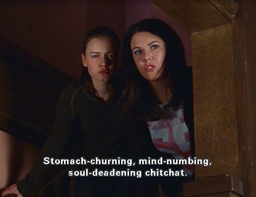Lorelai understands.