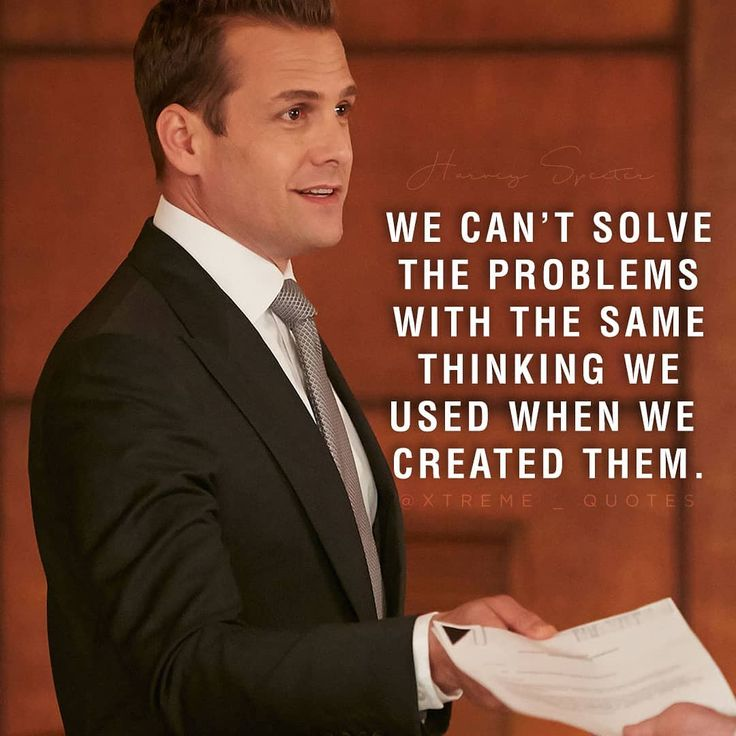 """903 Likes, 7 Comments - X t r e m e Q u o t e s (@xtreme_quotes) on Instagram: """"Life is nothing without problems, BOSS UP and solve them . . . #xtremequote #harveyspecter…"""""""