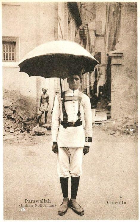 1920s India :: Calcutta Policeman