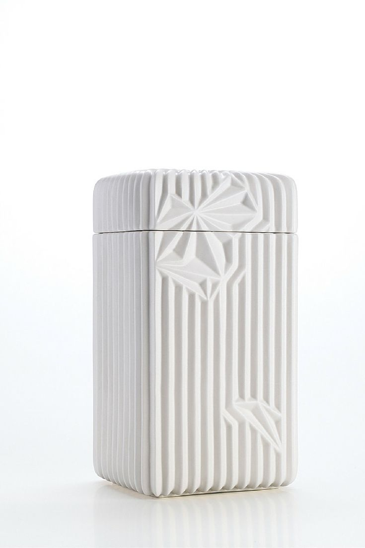 Spectrum Collection - Box, White Matte | www.homelivingceramics.com