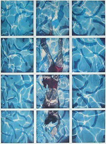 Une artiste attirée par l'univers des piscines.  Elle expose et sort une livre sur les piscines parisiennes    source  Les personnes qui suivent le blog depuis un moment, connaissent mon atti