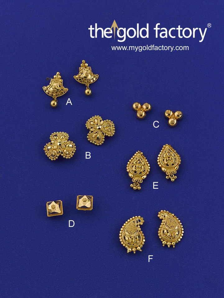 54 best Beautiful gold earrings @ factory prices images on ...