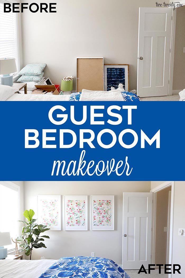 Guest Bedroom Refresh Guest Bedroom Makeover Guest Bedroom Bedroom Makeover Some changes to guest room