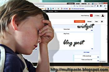 Menambahkan Widget di Atas Blog Post   MULTI PASTE