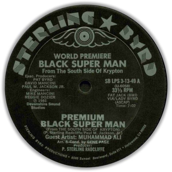 Black Super Man - Premium Black Super Man - Sterling Byrd - 1981 - A