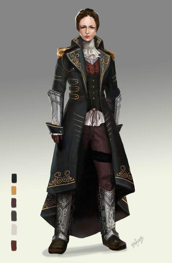 Character And Npc Design : Female upper class pc npc inquisidores y cazadores de