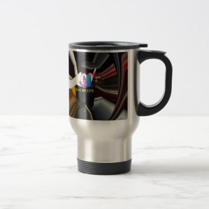 Chai My Life lovely Inspired DIY Ideas for Life Travel Mug - create your own gifts personalize cyo custom