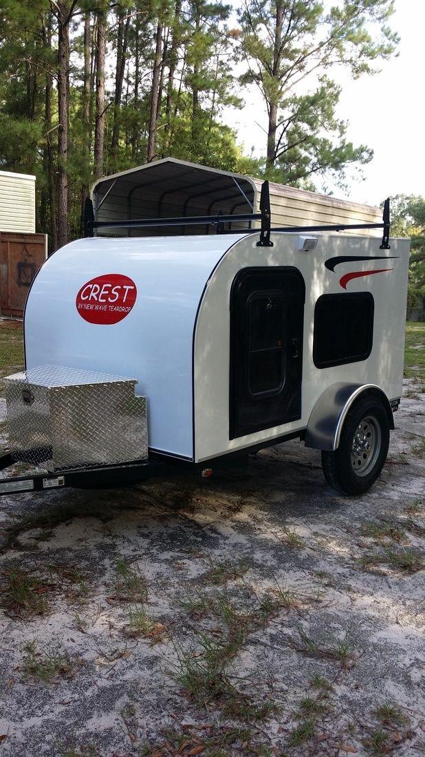 New Wave Teardrop Mini Campers Is A Small Custom Mini