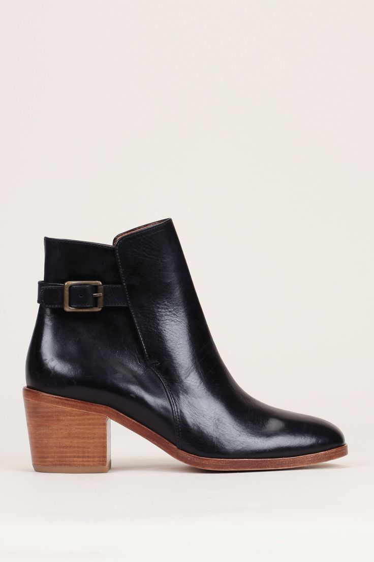 the 25+ best bottines cuir noir ideas on pinterest | boots femme
