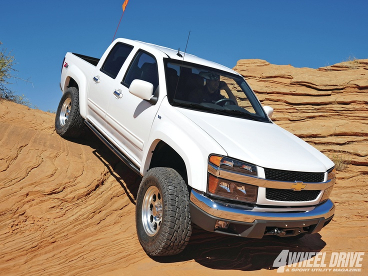 2012 #ChevyColorado Z71 Crew Cab: The Last Colorado - #GM Isn't Building These Anymore, But We Are - Full Featured Article Here: http://www.4wdandsportutility.com/tech/1303_4wd_2012_chevy_colorado_z71_crew_cab/