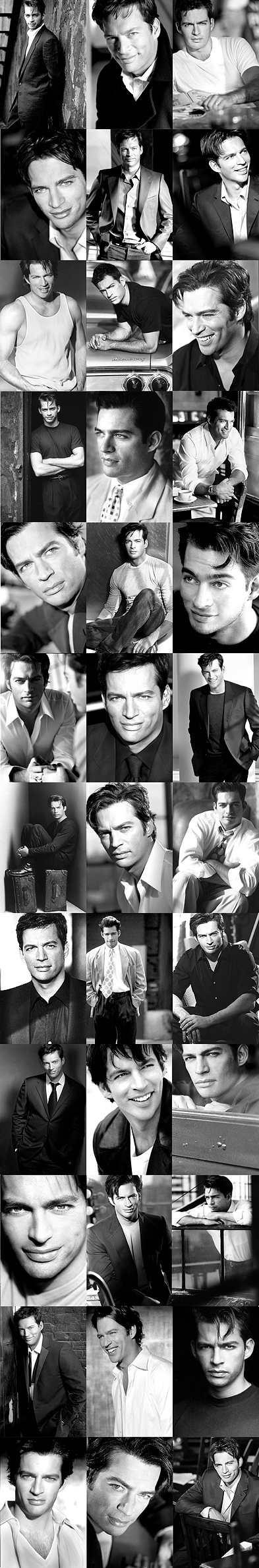 Harry Connick, Jr....because why not have a collage of his sexy self!  After seeing him in concert, you know he is beautiful inside and out!  Love him!