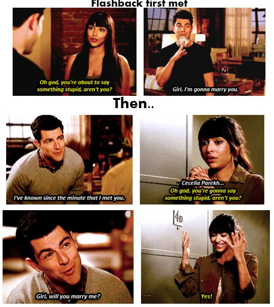Schmidt and Cece. The beginning and the proposal