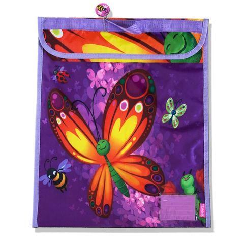 A 54 - Spencil Homework Bag / Book Bag - Butterflies - School Depot NZ  - 1