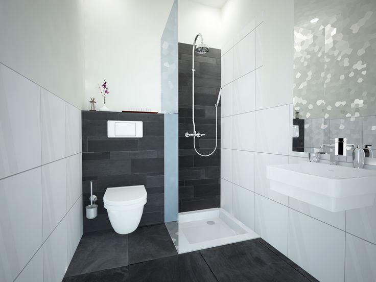 badkamer zwart/wit - badkamers | pinterest - badkamer zwart, Badkamer