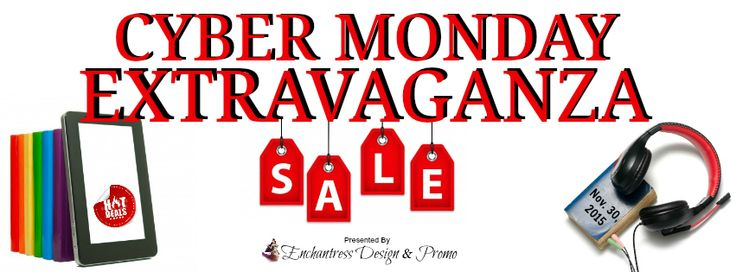 CYBER MONDAY EXTRAVAGANZA BOOK EVENT: Free & Deal of a Steals! Oh My!!! http://www.vivianaenchantressofbooks.com/2015/11/cyber-monday-extravaganza-book-event.html