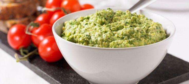 Hummus med grönkål