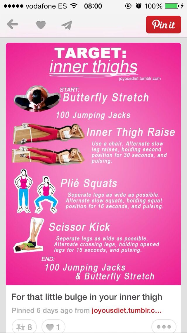 Inner thigh exercises; I just LOVE the butterfly stretch ...
