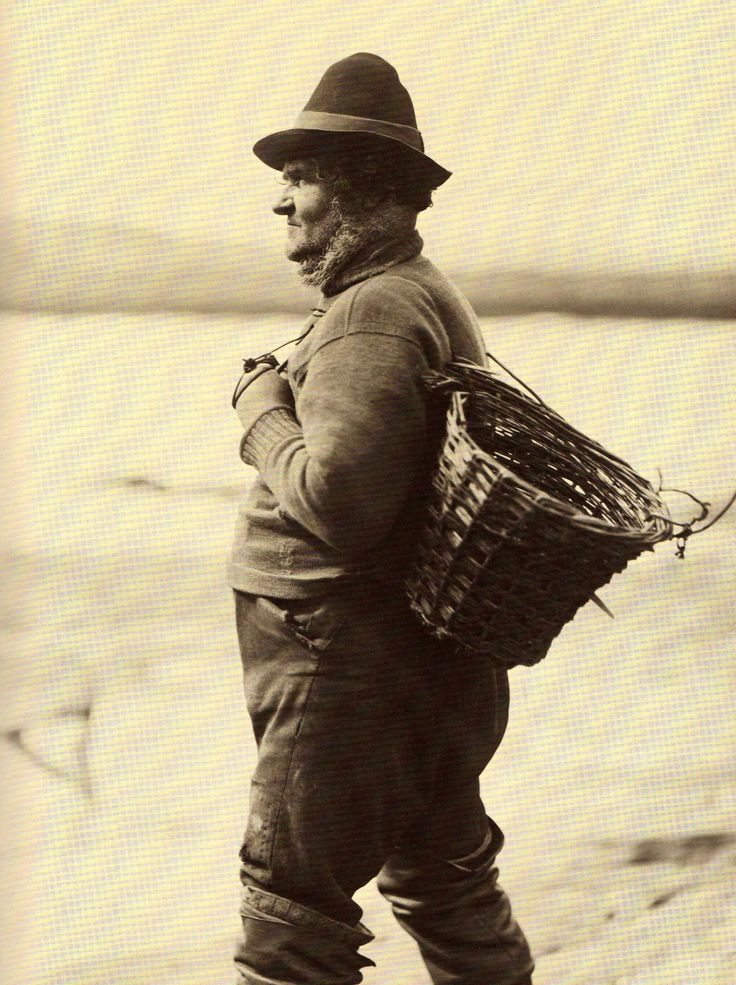 'Cud' Colley - A Whitby Fisherman - North Yorkshire - England - Late 1800s