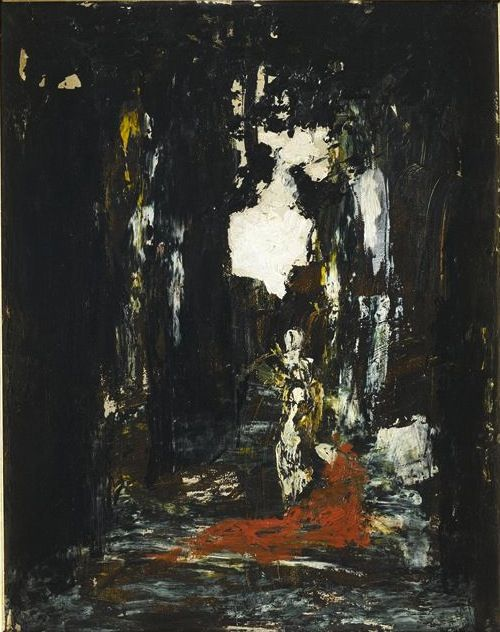 Coloured sketch by Gustave Moreau: