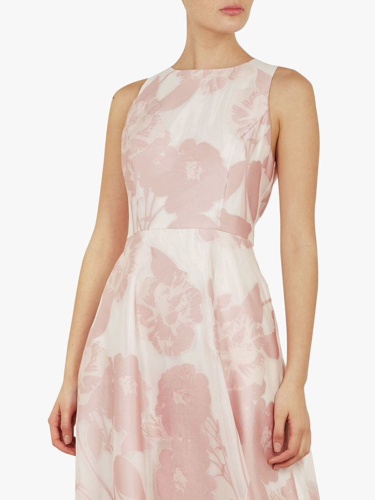 Ted Baker Wylieh Floral Jacquard Midi Dress 2