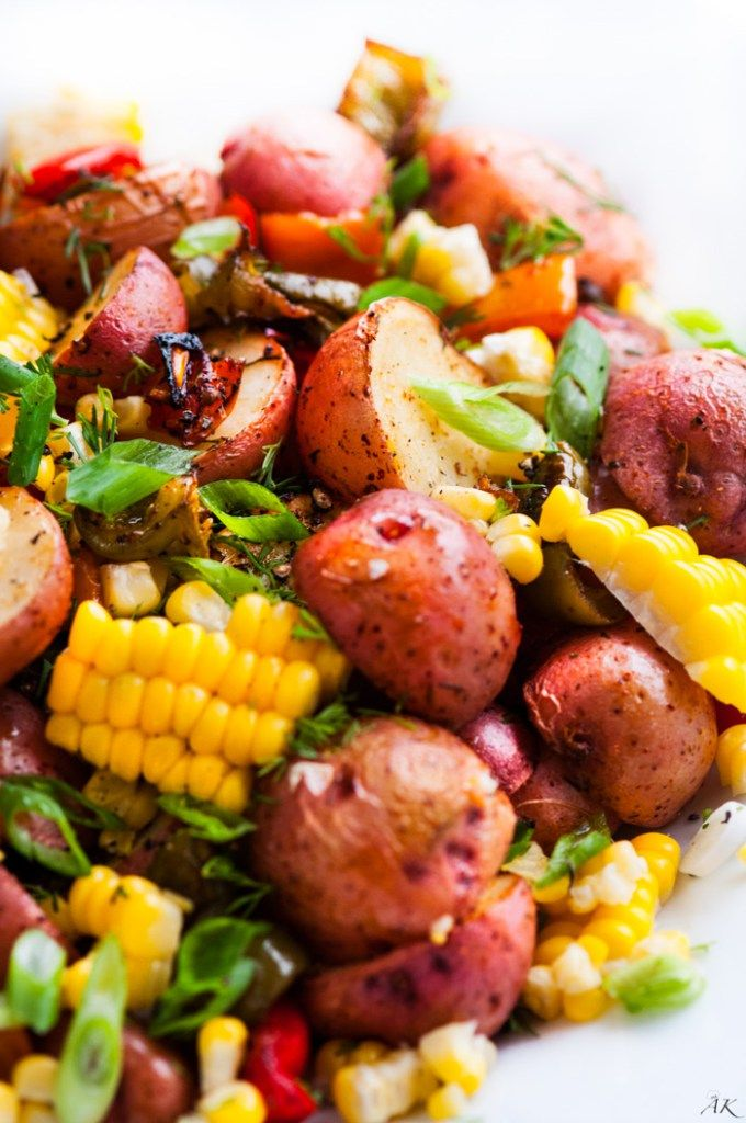 Vegan and Gluten-free Southwest Roasted Potato Salad Recipe