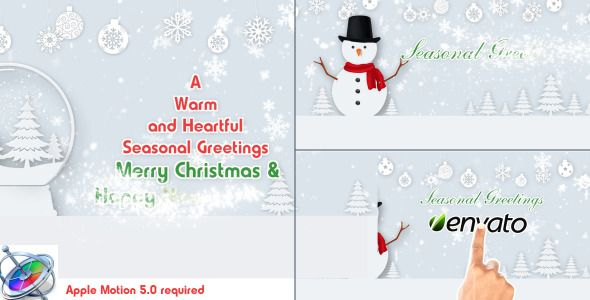 Christmas Wishes Text - Motion Project