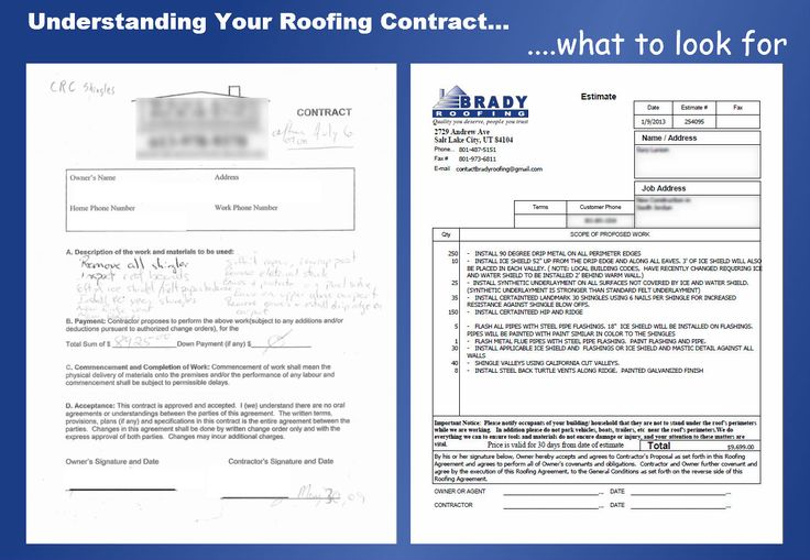Understanding Your Roofing Contract What To Look For
