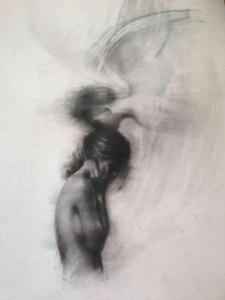 """Girl and Angel"" by Charlie Mackesy #drawing #pencil #art"